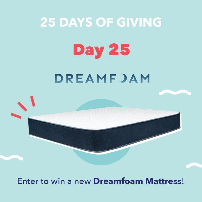 Dreamfoam Giveaway