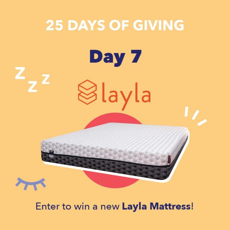 Layla Day7 25DaysOfGiving