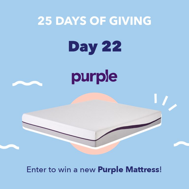 Purple Day22 25DaysOfGiving