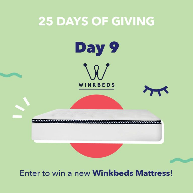 Winkbeds Day9 25DaysOfGiving