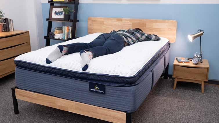 Stomach sleeping on the Serta Perfect Sleeper