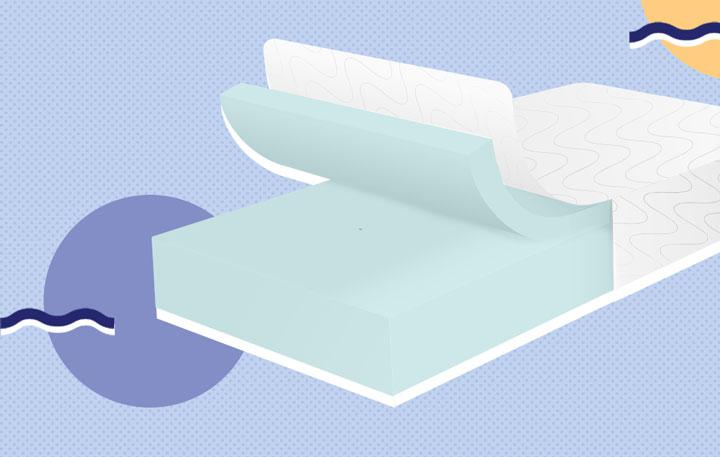 foam mattress graphic