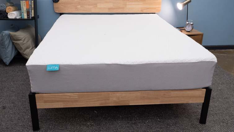 Luma mattress in Sleepopolis Studio