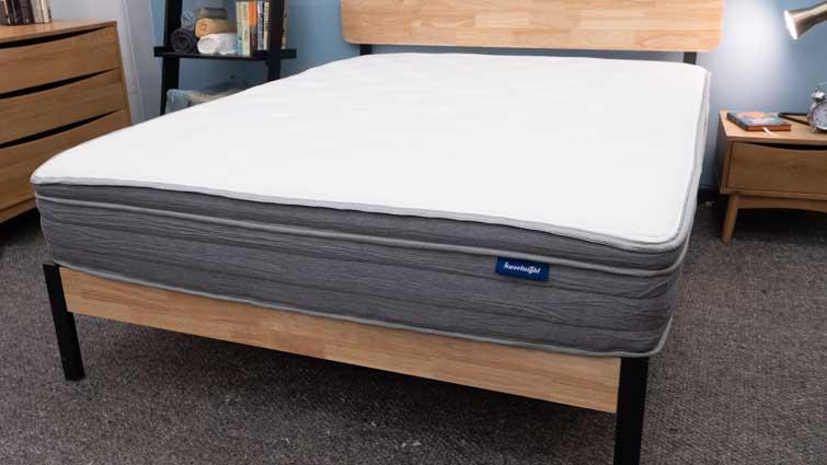 Sweet Night mattress in the studio