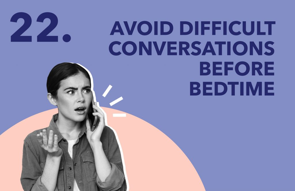 Day22 AvoidDifficultConversations