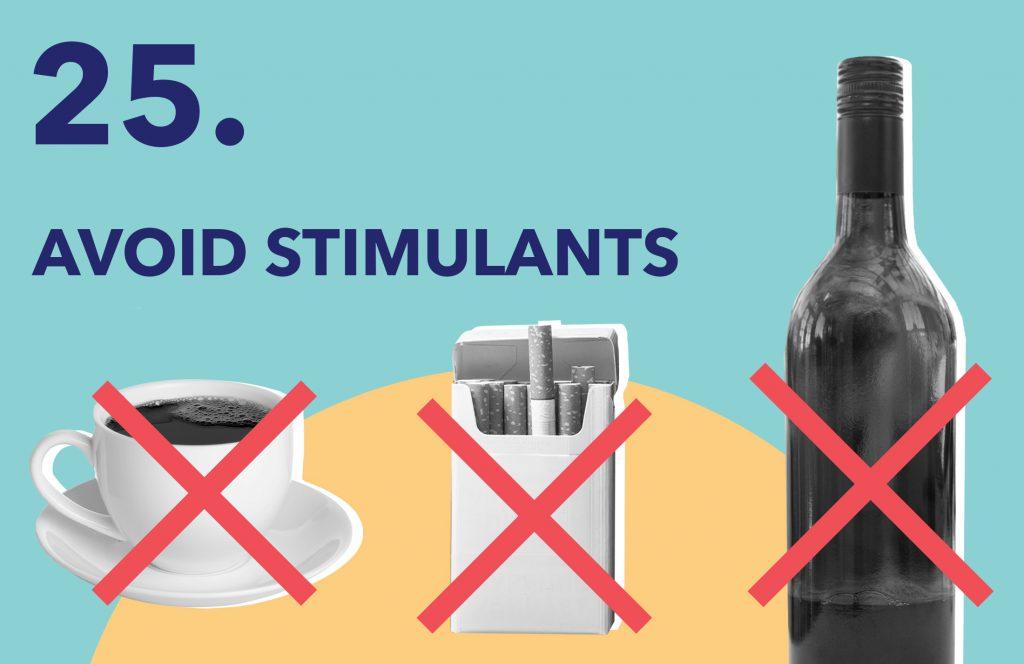 Day25 AvoidStimulants
