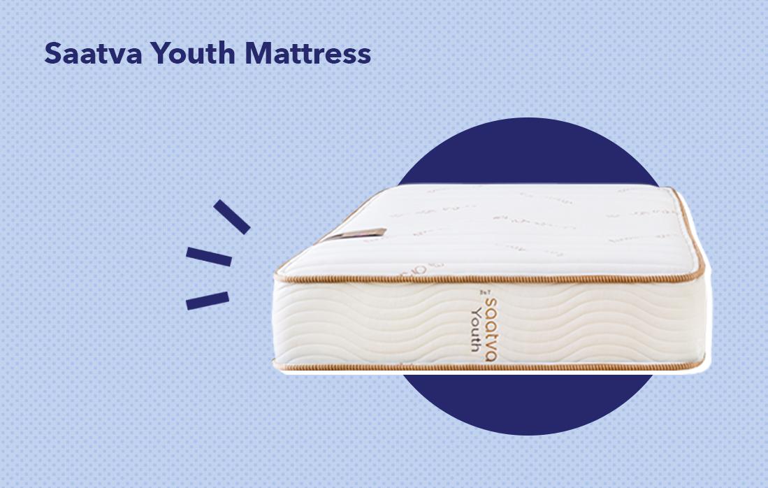 The Saatva Youth mattress.