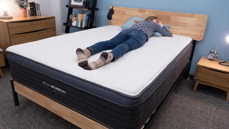 stomach sleeping on the Midnight Luxe mattress