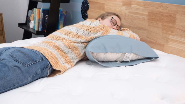 stomach sleeping on the WinkBed