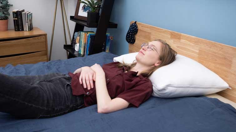 True Temp Pillow Back