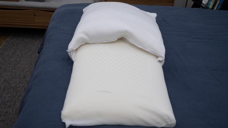 True Temp Pillow materials