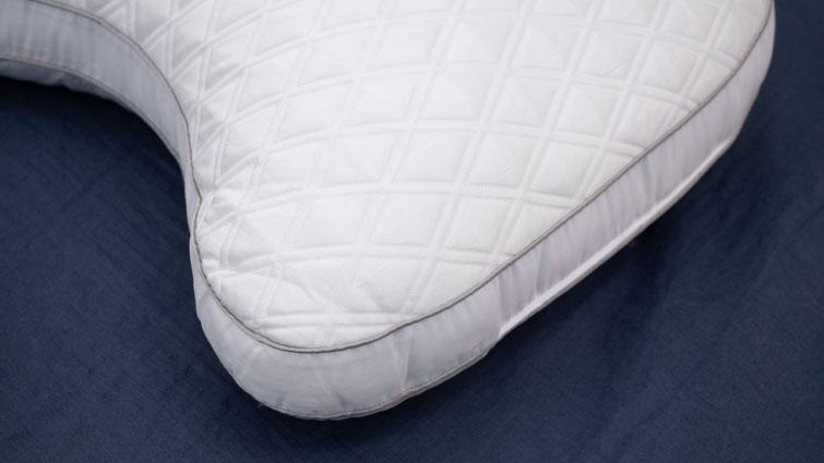 Bear Contour pillow cover close up