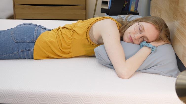 stomach sleeping on the Bear mattress