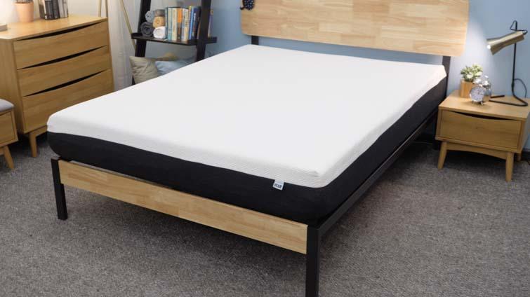 The Bear mattress in the Sleepopolis studio.